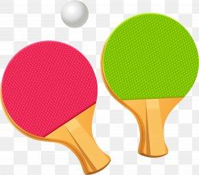Ping Pong Racket Image - Table Tennis Racket Clip Art PNG