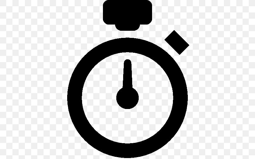 Stopwatch Clip Art, PNG, 512x512px, Stopwatch, Black And White, Chronometer Watch, Symbol, Timer Download Free