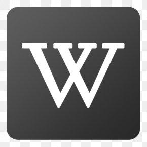 Flat Icon - Wikipedia PNG