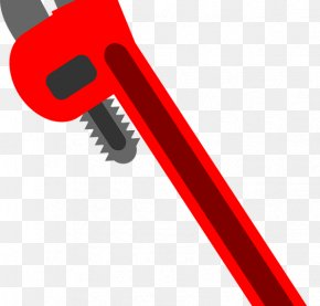 Pliers - Hand Tool Pipe Wrench Plumbing Spanners Plumber Wrench PNG