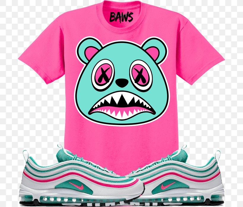 T shirt Nike Air Max 97 South Beach, PNG, 700x700px, Tshirt