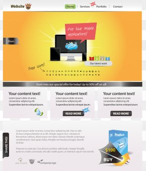 Beautifully Web Design - Web Page Web Design Web Template System PNG