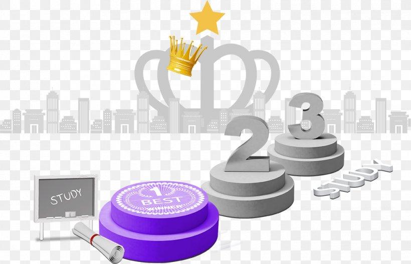 Podium Trophy Download, PNG, 1019x655px, Purple, Brand, Diagram, Product Design, Violet Download Free