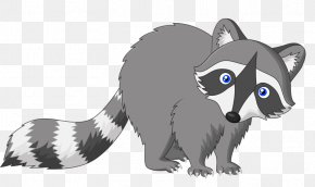 Cartoon Raccoon - Raccoon Cartoon Drawing PNG