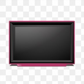 Vintage TV - Multimedia Text Computer Monitor Picture Frame PNG