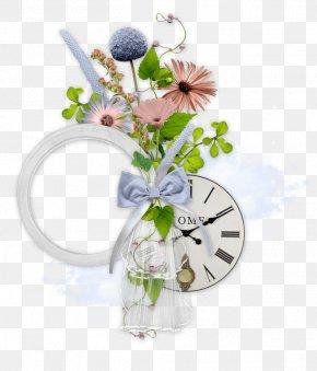 Flowers Floral Decorations - Scrapbooking Flower Picture Frame Clip Art PNG