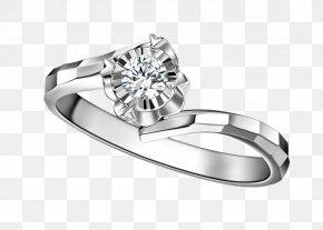 Diamond Ring - Ring Diamond Platinum PNG