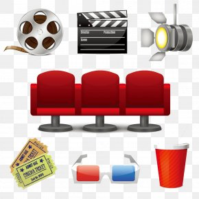 Movies And Seat - Cinema Film Stock Photography Stock Illustration PNG
