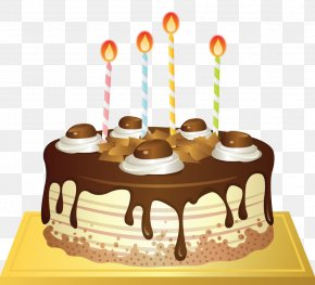 It Was Filled With Birthday Cake Candles - Torte Birthday Cake Chocolate Cake Clip Art PNG