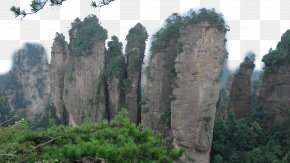Zhangjiajie National Forest Park Fourteen - Zhangjiajie National Forest Park Yongding District U067eu0627u0631u06a9 U062cu0646u06afu0644u06cc Wallpaper PNG