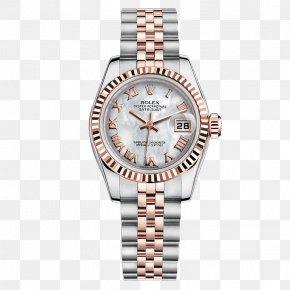 Silver Watches Rolex Watches Female Form - Rolex Datejust Counterfeit Watch Rolex Daytona PNG