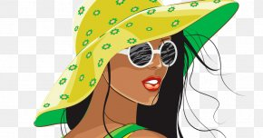 Retro Summer Sale Fashion - Fashion Illustration Drawing Painting PNG
