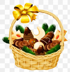 Basket - Picnic Baskets Christmas Hamper Clip Art PNG