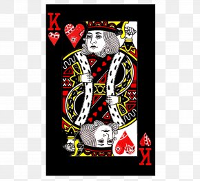 King Of Hearts Playing Card - T-shirt Hoodie King Playing Card PNG
