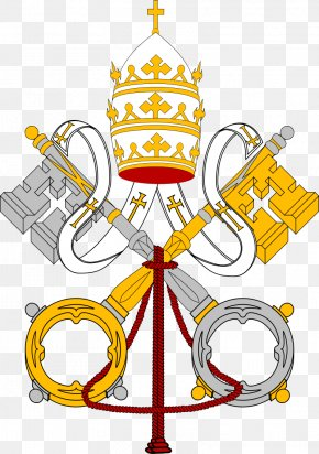 Church - Coats Of Arms Of The Holy See And Vatican City St. Peter's Basilica Flag Of Vatican City Coat Of Arms PNG
