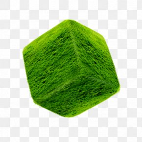 Square Grass - Cube Square Green PNG