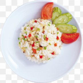 Rice - Thai Fried Rice Risotto Yangzhou Fried Rice Couscous Vegetarian Cuisine PNG