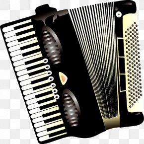 Accordion Musical Instruments Vector Material - Trikiti Piano Accordion Musical Instrument PNG