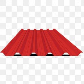 Trapezblech - Metal Profiles Dachdeckung Roof Tiles Sheet Metal PNG