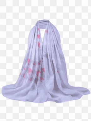 Neck Silk Stole PNG