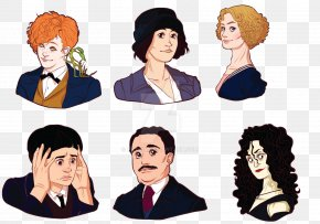 Harry Potter - Porpentina Goldstein Queenie Goldstein Newt Scamander Fantastic Beasts And Where To Find Them Film Series Harry Potter PNG