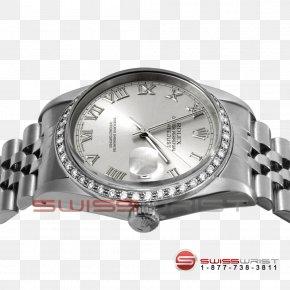 Metal Bezel - Rolex Datejust Watch Strap 1970s PNG