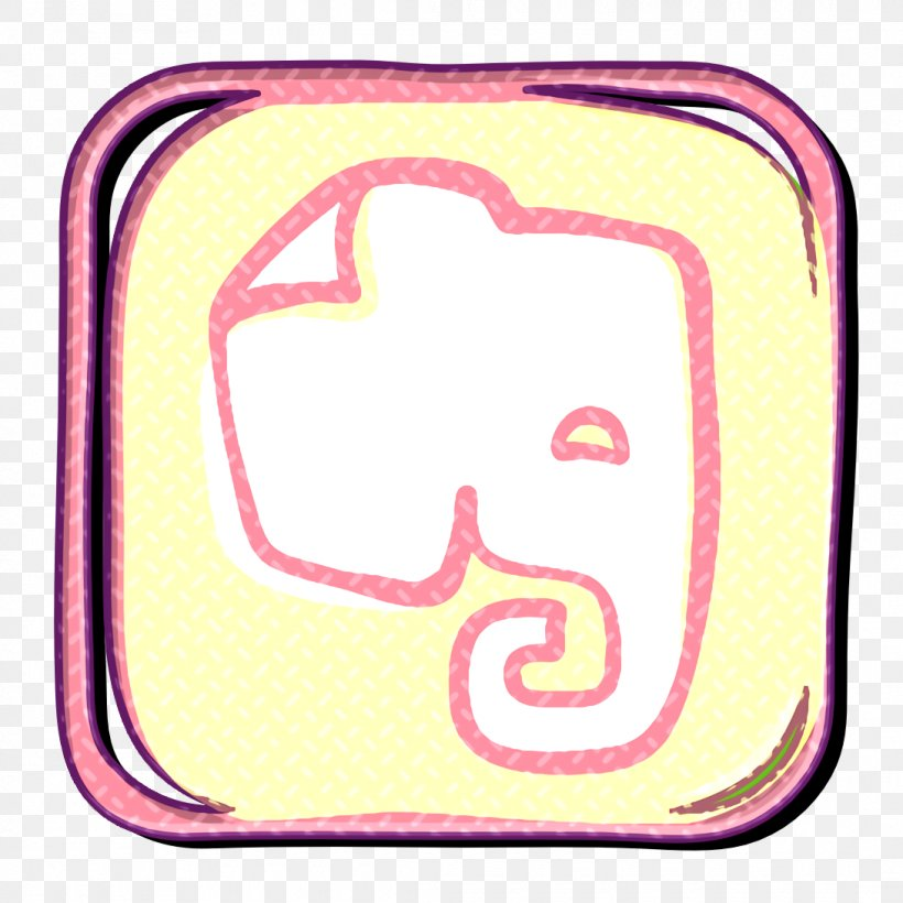 App Icon Elephant Icon Evernote Icon, PNG, 1090x1090px, App Icon, Elephant Icon, Evernote Icon, Media Icon, Memory Icon Download Free