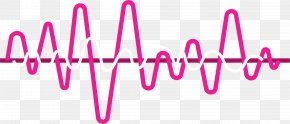 Heartbeat Line - Frequency Sound Icon PNG
