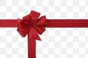 Gift - Gift Card Ribbon Christmas Gift Wrapping PNG