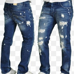 Men's Jeans PNG Image - Jeans T-shirt Slim-fit Pants Trousers Denim PNG