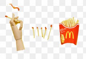 Fries Ad - French Fries French Cuisine Hamburger Advertising PNG