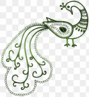 Elements - Tattoo Mehndi Henna Bird PNG