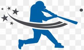 Baseball - Baseball Silhouette Batting Clip Art PNG
