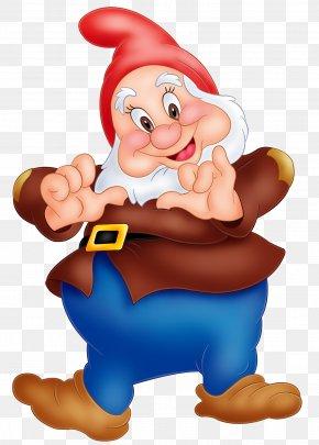 Happy Snow White Dwarf Image - Snow White Seven Dwarfs Dopey Clip Art PNG