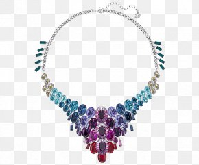 Swarovski Jewellery Women Necklace Colorful - Earring Necklace Jewellery Swarovski AG PNG