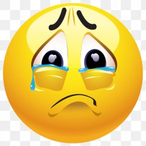 Sad Emoji Clipart - Emoji Sadness Emoticon Smiley Clip Art PNG