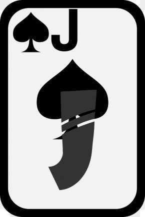 Sissy Cliparts - Jack Valet De Pique Playing Card Ace Of Spades PNG