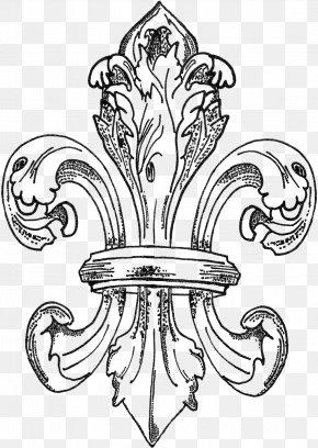Fleur De Lis Coloring Page - New Orleans Coloring Book Fleur-de-lis Royalty-free Clip Art PNG