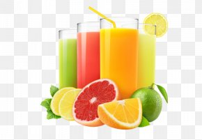 All Kinds Of Juice - Juice Fasting Clementine Lemon Fruit PNG