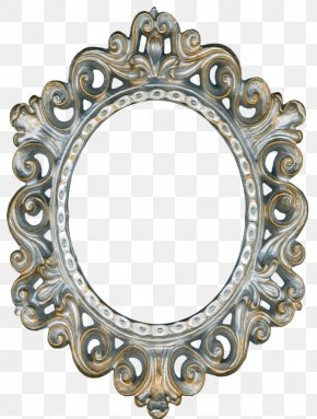 Vintage Gold - Picture Frames Mirror Decorative Arts Clip Art PNG