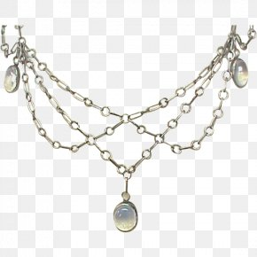 Necklace - Pearl Locket Necklace Jewellery Silver PNG