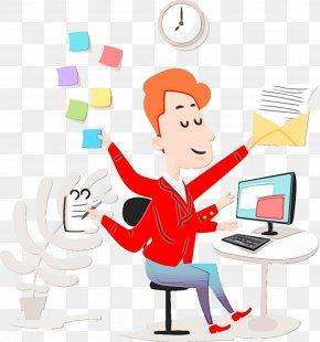 Pleased Thumb - Cartoon Clip Art Line Job Business PNG