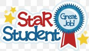 Good Student Cliparts - Student School Star Teacher Clip Art PNG