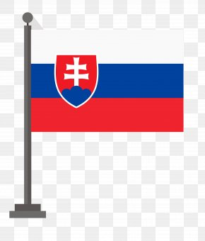 National Flag Free Material Download Free - Flag Of Slovakia National Flag Illustration PNG