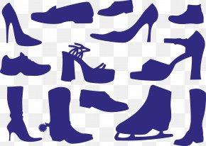 Vector Shoes - Shoe High-heeled Footwear Sneakers Boot PNG