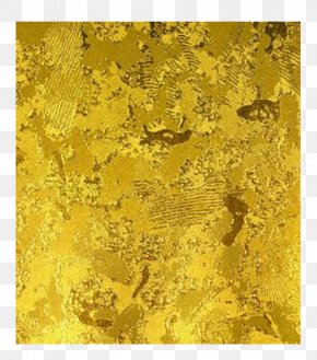 Gold Foil Texture - Texture Mapping Gold Leaf Wallpaper PNG
