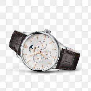 Watch - Mechanical Watch Oris Complication Chronometer Watch PNG