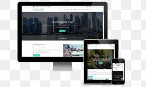 Template Responsive Web Design Computer Software WordPress Smartphone PNG