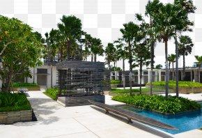 Ali La Croix Villas Hotel Landscape - Villa Hotel Gratis PNG