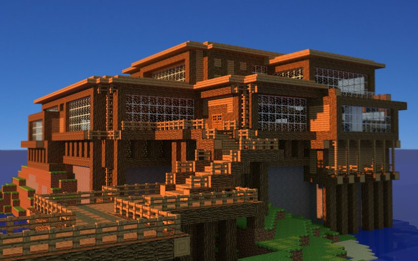 Minecraft Pocket Edition House Survival Building Png